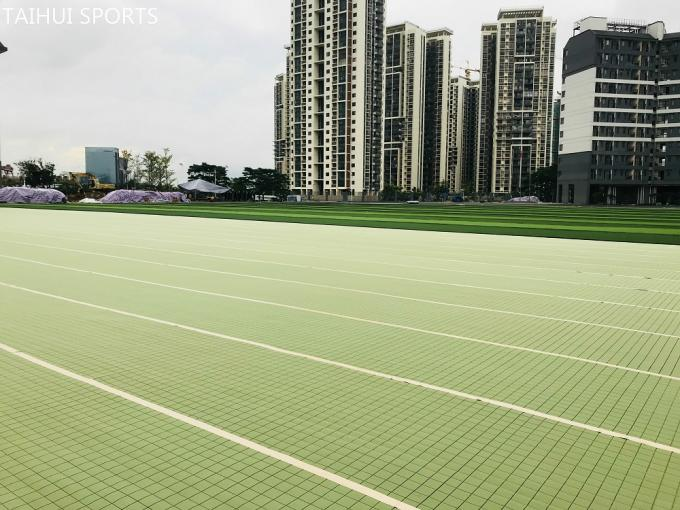 Double-Sided Grooved Artificial Turf/Grass Shock Pads Underlay Recycling High 10-30 mm  thickness Long Life Span 3