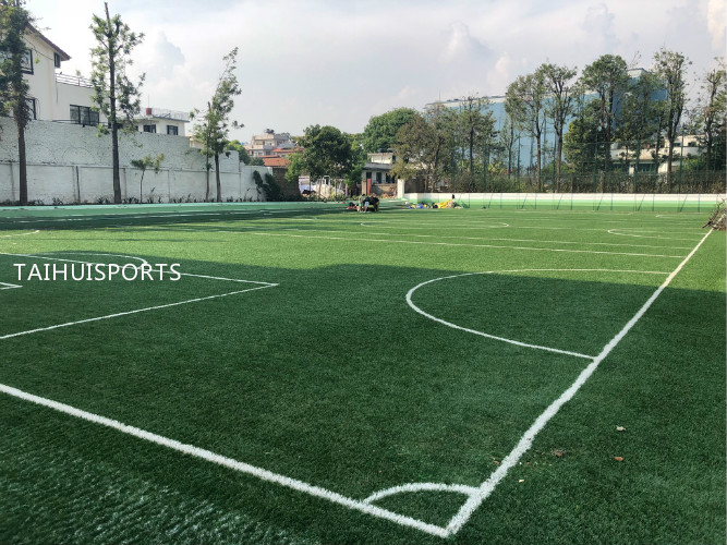 Low Bulk Density UV resistance Artificial Turf Infill TPE Rubber Granules Recyclable For Outdoor Soccer Fields 6